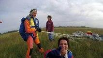 Préparation au saut en parachute avec A'air parachutisme