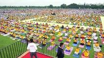 L'Inde célèbre la Journée internationale du yoga