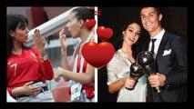Coupe du monde 2018 : Cristiano Ronaldo fiancé  ? Georgina Rodriguez exhibe sa bague scintillante !