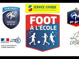 Rencontre Départementale Foot à l'Ecole à St Mihiel - mardi 19 juin 2018