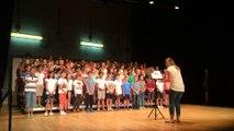 La chorale de l'école Jules-Ferry