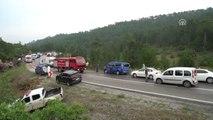 Otobüs Kazası - 1 Ölü, 24 Yaralı (3)