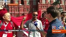 Mondial 2018: rencontre avec des supporters tunisiens à Moscou