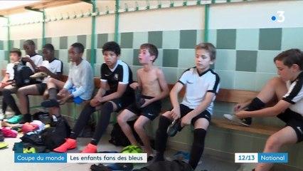Coupe du monde : les enfants fans des bleus