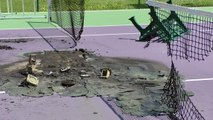 Alpes-de-Haute-Provence :  les terrains de Tennis de Sainte-Tulle saccagés, la municipalité recherche des témoins