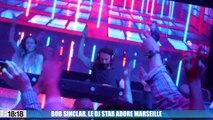 Le Dj star Bob Sinclar adore Marseille !