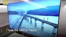 Chinese President Xi Jinping invited Putin on a visit on board their bullet train, travelling at 300+ kms per hour, without a single tea cup or glass moving, to