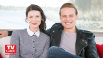 Outlander - Sam Heughan & Caitriona Balfe TVGuide Interview at CC [Sub Ita]