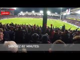 Crystal Palace 2-3 Arsenal | Gooners In Good Voice In The Cold At Selhurst Park!