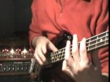 Jingle Bells (Tapping On Bass Guitar)