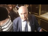 Sepp Blatter Arrives In Moscow For World Cup