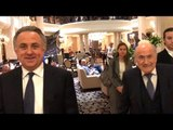 Sepp Blatter Has Dinner With Vitaly Mutko