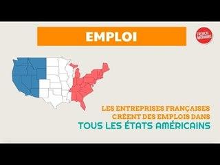 Infographie : les chiffres du rayonnement économique français aux Etats-Unis