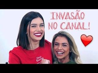 MINHA MÃE INVADIU MEU CANAL!