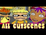 Rocket Power: Beach Bandits All Cutscenes | Full Game Movie (Gamecube, PS2)