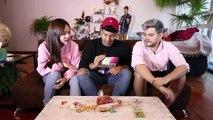 PROBANDO DULCES MEXICANOS!! feat. Jeks Coreana, Benshorts