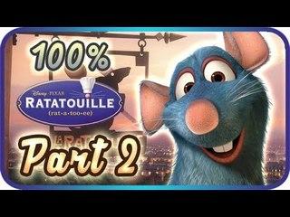 Ratatouille Walkthrough Part 2 • 100% • The Movie Game ᴴᴰ (PS2, Wii, Gamecube, XBOX, PC)