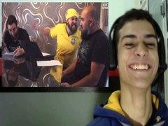 REACT REACT Ixpertinho na COPA Familia CANARALHO