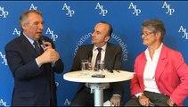 Conférence de presse de François Bayrou, maire de Pau, ancien Garde des Sceaux et président du MoDem - Mercredi 13 juin 2018