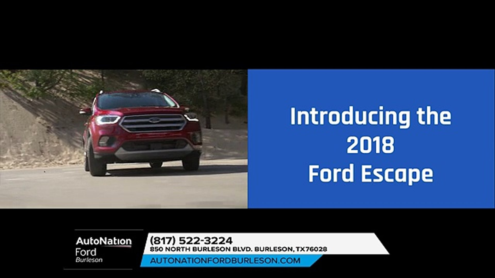 Autonation Ford Burleson >> Ford Escape Arlington Tx 2018 Ford Escape Arlington Tx