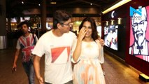 Swara Bhasker spotted with boyfriend Himanshu Sharma on airport