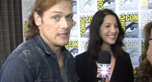 Outlander - Sam Heughan & Caitriona Balfe and Honeypot [Sub Ita]