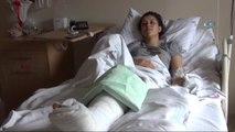 """Eşini Döner Bıçağı ile Yaralayan Sanık Kendisi Savundu: """"Çocuklarıma Bakmıyordu"""""""