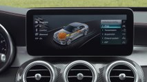 Mercedes-AMG C 43 4MATIC Sedan Interior Design in Hyacinth red