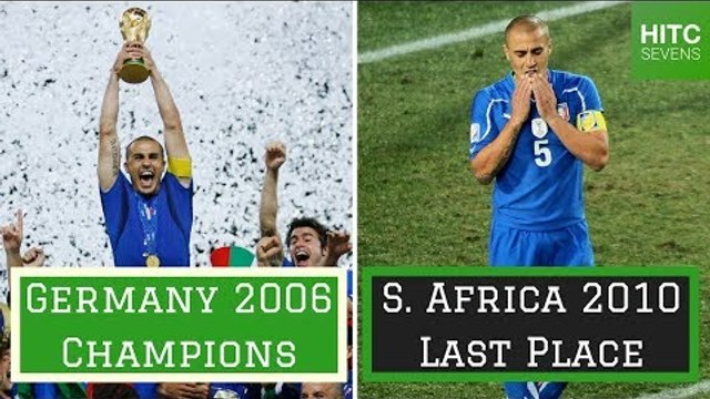 7 Worst Defending World Cup Winners
