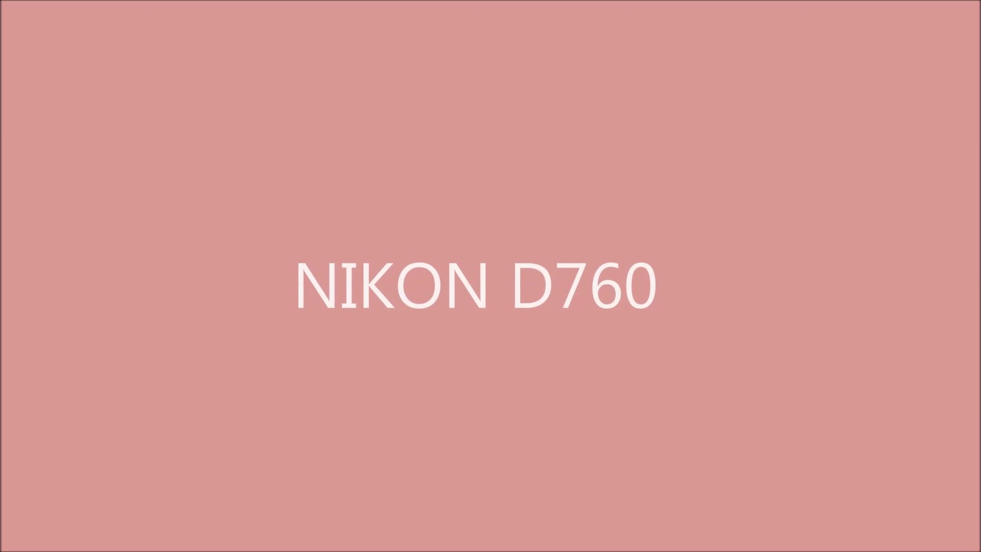 Nikon D760 : Specifications & Release Date