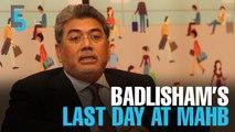 EVENING 5: Badlisham's contract not renewed
