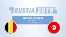 Le Face à Face - Belgique vs. Tunisie