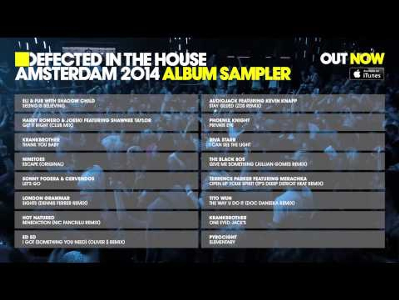 Defected In The House Amsterdam 2014 - Album Sampler