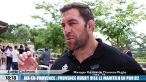Aix-en-Provence : Provence Rugby vise le maintien en Pro D2