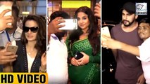 Bollywood Celebs Harassed By Fans For Selfies | Varun Dhawan, Jhanvi Kapoor