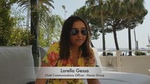 CANNES LIONS 2018 : Interview of Lorella Gessa, Chief Communications Officer Havas Group