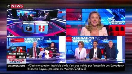 Francis Lalanne, dernier recours des Bleus sur CNews