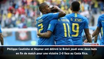 Fast match report - Brésil 2-0 Costa Rica