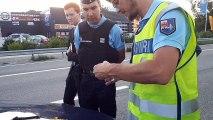 Opération de contrôle de gendarmerie dans les Hautes-Alpes