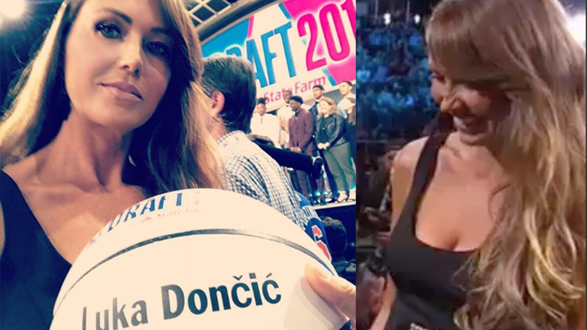 Luka Dončićs Hot Mom Was The Star Of The Nba Draft