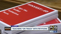 Petition launched by Red for Ed on track with signatures