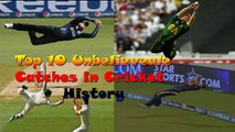 Unbelieveable and Unexpected Catches in Cricket History