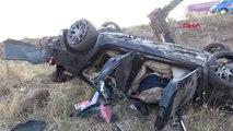 Şanlıurfa Otomobil Şarampole Devrildi 1 Ölü, 5 Yaralı