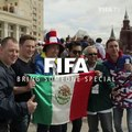 One year ago, we asked fans here to tell us who they would bring to the opening game of the World Cup. And why. Winners from  &  saw their dreams come true