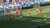 Dylan Bronn Goal - Belgium vs Tunisia 2-1 23/06/2018