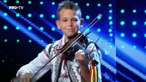 Young Musician Storms The Stage on Românii au Talent - Got Talent Global