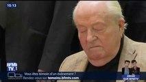 Jean-Marie Le Pen a quitté l'hôpital pour rejoindre son domicile dans les Hauts-de-Seine