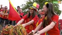 L'Avenir - Mondial de football : ambiance Belgique Tunisie à Visé