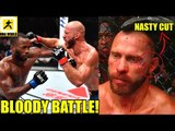 MMA Community Reacts to 5 ROUND battle between Donald Cerrone vs Leon Edwards,FN 132 Results