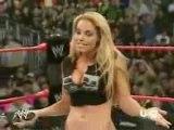 Raw 10 12 07 Trish Stratus & Lita Return